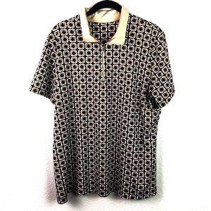 Tail 1/4 Zip Short Sleeve Women's Golf Shirt
